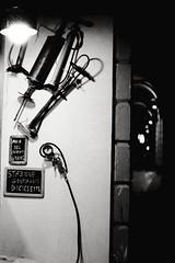 Aria gratis (laetitia.delbreil) Tags: film pellicule pellicola analog analogico anlogo argentique kodaktrix400 pentacon prakticab200 prakticar50mm118 35mm slr singlelensreflex bologna italia monochrome noiretblanc blackandwhite nigthphotography bw ishootfilm ifeelfilm jesuisargentique fimisnotdead filmisback believeinfilm