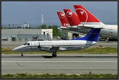N1110J Everts Air Cargo (Bob Garrard) Tags: n1110j everts air cargo embraer emb120 brasilia northwest airlines 747 anc panc