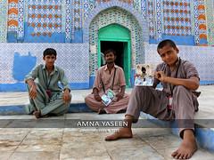 Photographers at Shrine of Sachal Sarmast (Amna Yaseen) Tags: ranipurrayasat sindh 2016 shrine sachalsarmast saint pakistan pointandshootcamera photographers photographic album sufi travel photography