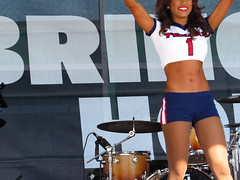 IMG_6883 (grooverman) Tags: houston texans cheerleaders nfl football game nrg stadium texas 2016 budweiser plaza nice sexy legs stomach canon powershot sx530