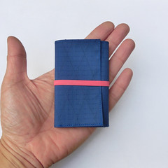 Handmade Light Weight Wallet (umamen) Tags: handmade diy xpac wallet