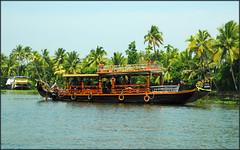 Backwaters vessel (miguel IV) Tags: kerala backwaters