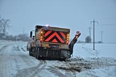 Believe it or not.... (Jeannette Greaves) Tags: winter snow road poor conditions seofdeerwood