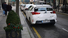 Toyota (Jusotil_1943) Tags: 061216 whitecars parada taxis