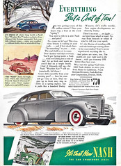 Throwback Thursday (classic77) Tags: classic car vintage magazine back michigan ad detroit motors advertisement corporation kelvin motor nash division corp thursday 39 throw 1939 throwback ator kelvinator