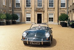 Outside Althorpe House (the.photo.joe) Tags: film 35mm 912 britain great 911 turbo porsche cayman zenit spencer 356 althorpe porscheclub