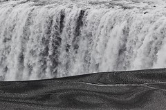Dettifoss (SkylerBrown) Tags: travel texture ice nature water landscape grey waterfall iceland pretty ísland