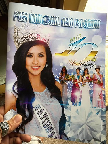 Image director for Miss National Asia Pageant 2015