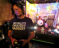 Worlds Okayest Bassist (Georgie_grrl) Tags: music toronto ontario friend performance bassist indierock guitarist cameronhouse rockon mondo guestmusician 122greige canonpowershotelph330hs mynewdarkpinkside worldsokayestbassist andagreatphotographertoo