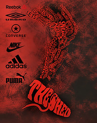The Shed (uz360) Tags: feet photoshop logo typography foot shoe idea design shoes leg running business thigh illustrator calf shin subtle originalconcept desigining uzairqadri uz360arts
