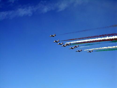 frecce tricolore aerei 3