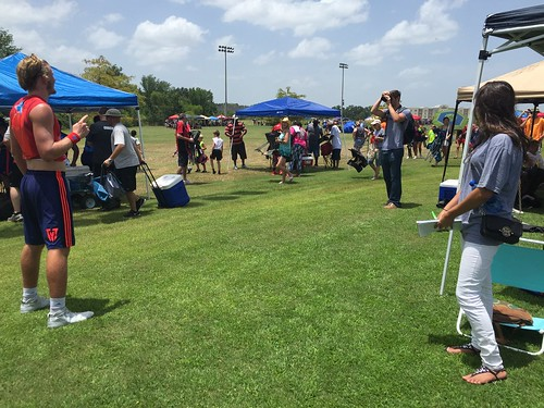 """Posing for the press at 7-on-7 - 7.10.2015 • <a style=""""font-size:0.8em;"""" href=""""http://www.flickr.com/photos/38444578@N04/21035190206/"""" target=""""_blank"""">View on Flickr</a>"""