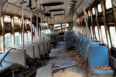 Rough Rider (95wombat) Tags: old rusty streetcar derelict boneyard decayed ruined rotted