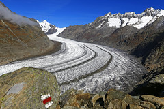 Aletsch Gletscher (ISO 69) Tags: mountain mountains alps ice schweiz switzerland suisse glacier elements alpen svizzera gletscher eis wallis wandern valais alpin aletsch wanderweg aletschgletscher bettmeralp alpinismus aletscharena