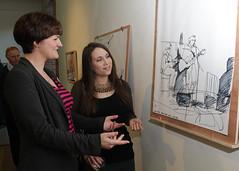 2015_Sep_(8) (Cavan County Council's Library Service) Tags: night live library arts culture drawings folklore sally launch cavan ucd runaways 2015 odowd mad4trad christir maccrthaigh