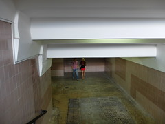 From below (GrusiaKot) Tags: boy man girl walking subway couple metro ukraine kharkov kharkiv ucraina