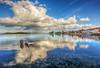 Fisherman (Nejdet Duzen) Tags: trip travel sea vacation holiday reflection turkey boat fishing fisherman cloudy türkiye deniz iskele sandal izmir tatil yansıma turkei seyahat urla balıkçı bulutlu