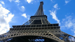Paris: Tour Eiffel - the Eiffel Tower  (324 metres tall)