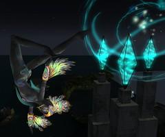 Wind Rider Sirocco at Fallen Gods (Spyralle) Tags: mask mesh fantasy fractal windrider sirocco spyralle