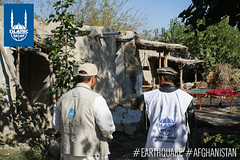 Islamic Relief team in Afghanistan travel to Nangarhar to assess damages. The figures from earlier this week reported that there 25 dead as well as 1,200 homes damaged or destroyed.