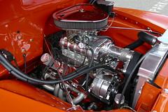 1950 chevrolet 350 Power (bballchico) Tags: chevrolet engine pickuptruck 1950 supercharged goodguys 350ci russcox goodguysspokane