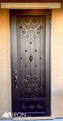 """Elegant Wrought Iron Screen Door • <a style=""""font-size:0.8em;"""" href=""""http://www.flickr.com/photos/113341785@N07/22680375457/"""" target=""""_blank"""">View on Flickr</a>"""