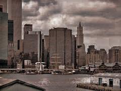 Manhattan in Pixels (raymondclarkeimages) Tags: city sky usa ny newyork building brooklyn photography cityscape photographer outdoor manhattan sony cybershot hudsonriver pixels rci imageof pictureof picof raymondclarkeimages 8one8studios