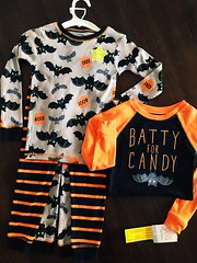 Got these cute Carter's jammies from the Target Halloween Clearance 2015. From $15.99 down to $5.99 after sale and discount from the Target Cartwheel app! Not bad since its size 5t & my elder son will use it for our next Halloween vacays or sleepovers!:) (Travel Galleries) Tags: orange usa black halloween boys comfortable skyline kids print happy outfit clothing child sale sleep top gray bat clothes size pjs target safe matching toddlers jammies clearance pajamas app cartwheel comfy buttom carters attire discounts 2015 5t sleepwear longsleeves ootd battyforcandy