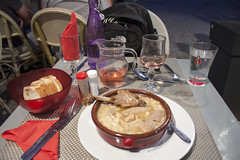 Cassoulet - My last Dinner in Carcassonne (rfzappala) Tags: france dinner europe cassoulet carcassonne languedoc 2015