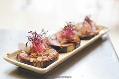 Momiji cocina japonesa (nasu dengaku) (MaxiKohan) Tags: food cooking valencia cuisine japanese restaurant comida momiji japanesecuisine mercadodecolón cocinajaponesa maxikohanphotography