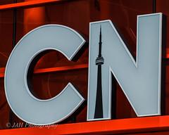 CN (jah32) Tags: red signs toronto ontario canada sign cntower cmwdred