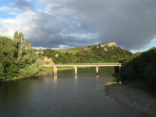 New bridge over the Waiau River at Clifden