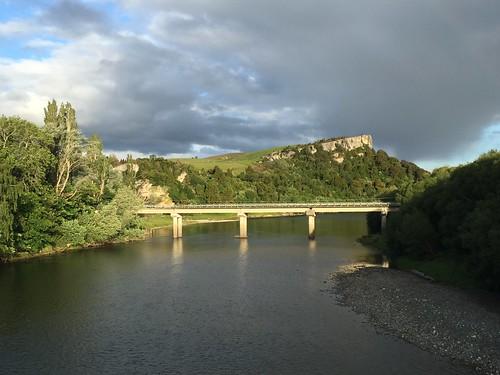 New bridge over the Waiau River at Clifden