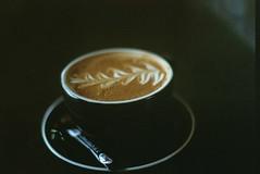 coffee (simwalshy) Tags: white film 35mm flat pentax kodak first 400 mug roll mx ultramax