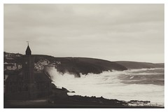 Stormy Seas (John Hague) Tags: sea storm cornwall waves hightide stormyweather porthleven