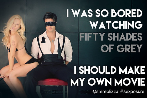Fifty Shades Of Grey - Stereolizza Sexposure Meme