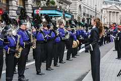EGP15293 (Enrique Guadiz Photography) Tags: usa london cheerleaders post newyear parade bands marching eveningstandard darcy huffington oake 2016 londonist timeoutlondon lnydp