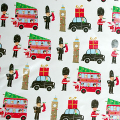 IMGP7892 (Steve Guess) Tags: christmas xmas uk england bus london wrapping paper taxi guard police bigben surrey gb policeman pavey leatherhead guardsman 2015
