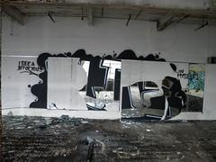 A little of myself (Randall 667) Tags: street urban building art abandoned myself graffiti see artist you massachusetts exploring dna writer bit outcast ohmy attleboro tagger sloe hunch i