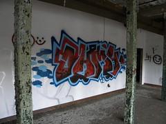 Ohmy (Randall 667) Tags: street urban building art abandoned graffiti artist massachusetts exploring crew writer outcast ohmy attleboro tagger