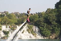 Flyboarding 3710 (Petr Novk ()) Tags:  china na  guangxi  liuzhou  asia asie flyboard flyboarding sport watercarnival watersport   river water