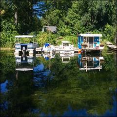 Reflets (Vince Arno) Tags: cannda ontario toronto bateau eau reflet