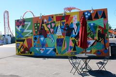 Brooklyn - Coney Art Walls: Nina Chanel Abney (wallyg) Tags: brooklyn coneyartwalls coneyisland kingscounty newyork newyorkcity ny nyc streetart ninachanelabney untitled mural