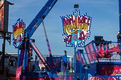 DSC02258 (A Parton Photography) Tags: fairground rides spinning longexposure miltonkeynes fireworks bonfire november cold
