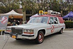 13th Annual Culver City Car Show (USautos98) Tags: cadillac caddy caddie hearse ambulance ecto1 ghostbusters