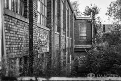 Decaying Building (AP Imagery) Tags: urbex ky abandoned building decay urbanexploring industrial kentucky jeffersonco bricks urbanexploration bw blackandwhite louisville monochrome usa