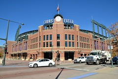 Coors Field (jpellgen) Tags: baseball stadium field mlb rockies colorado co denver milehighcity usa america nikon sigma 1770mm d7000 fall autumn travel downtown lodo coors coorsfield sports theplayer georgelundeen art sculpture