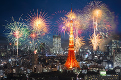 Tokyo (Patrick Foto ;)) Tags: 2016 2017 aerial architecture asia beautiful beauty building business celebrating city cityscape concept copyspace destination dusk evening event famous festival firework fireworks japan japanese landmark landscape light modern new night outdoor place scene scenery sky skyline style summer tokyo tower tradition travel twilight urban view year minatoku tkyto jp