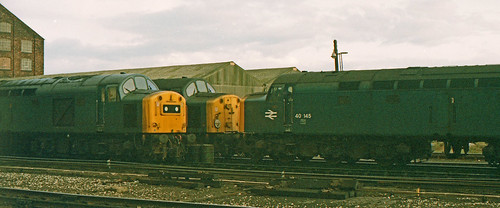 40145, 40194, 40091 Warrington Arpley HS 6th April 1983.