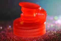 DSC_3462-A: Backlit bottle top (Tower Of Babel) (Ernest Lysander-Guano) Tags: backlighting macromondays
